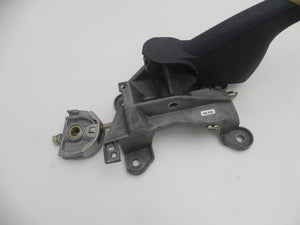 (Used) Boxster Dark Gray Leather Parking Brake Handle Assembly - 1997-2004