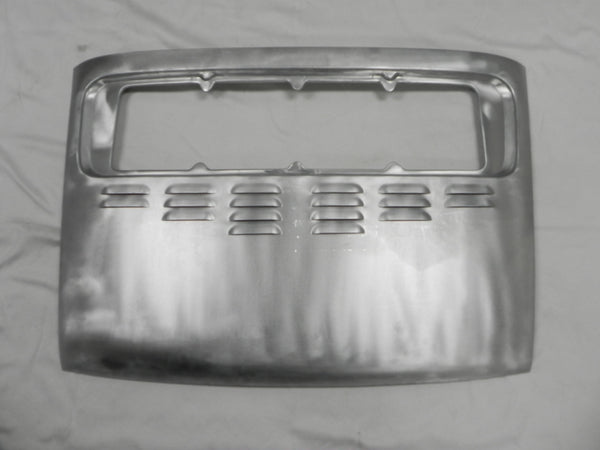 (New) Aluminum Rear Engine Lid with Louvers- 1965-94