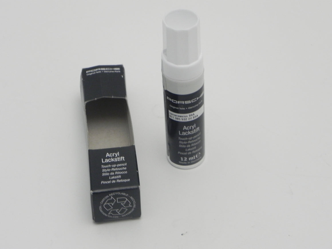 (New) Carrera White Paint Touch Up Applicator - 1998-2014