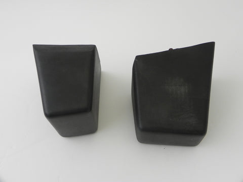 (Used) 914 Pair of Front Bumper Rubber Buffer Guards - 1973-76