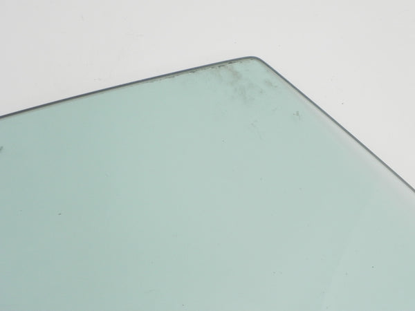 (Used) 911/912/930/964 Coupe Right Hand Green Tinted Window Glass w/ Rail - 1969-94