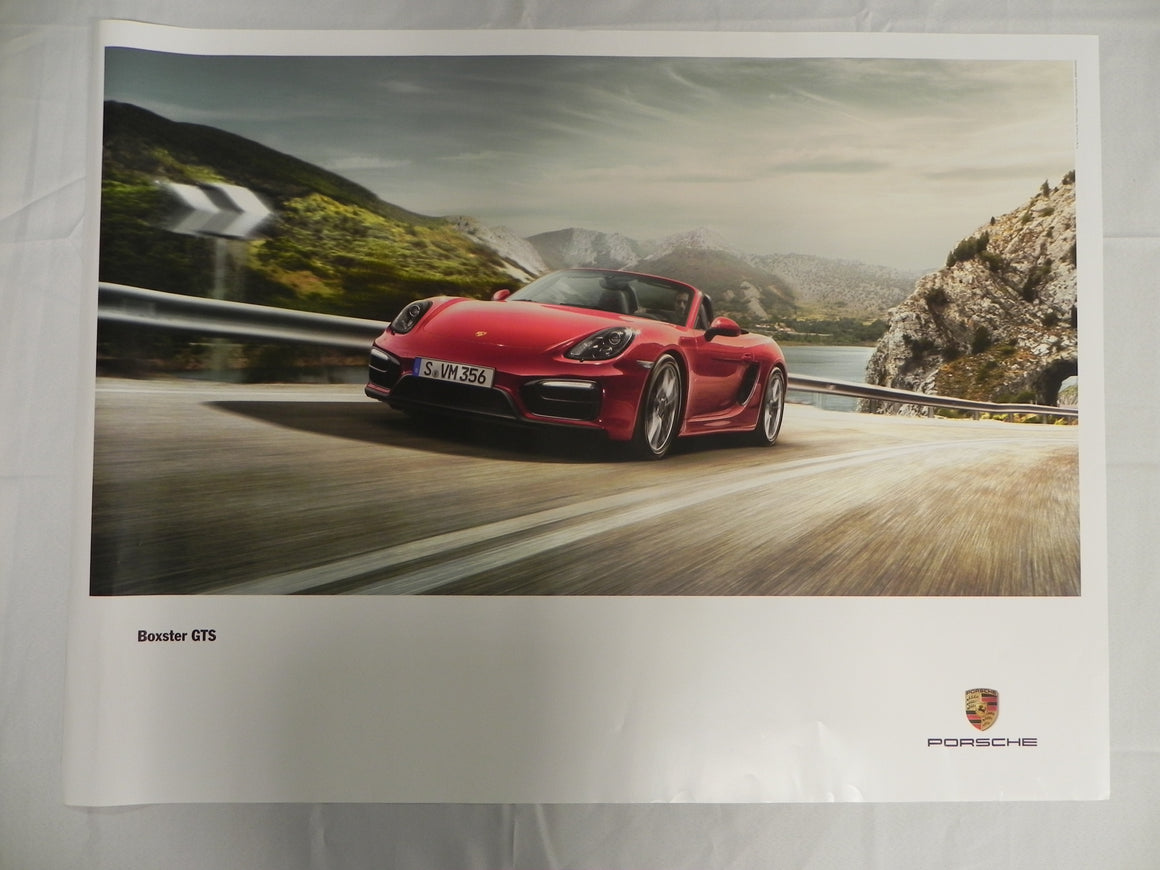 "(New) 2014 Boxster GTS Poster 30"" x 40"""