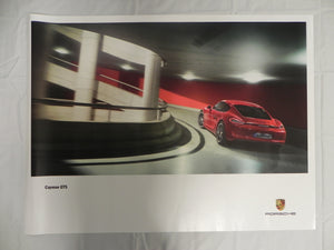 "(New) 2014 Cayman GTS Poster 30"" x 40"""