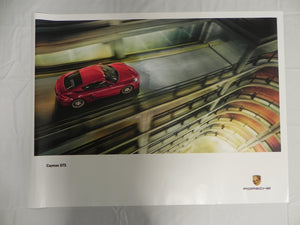 "(New) 2014 Cayman GTS Poster 30"" x ""40"
