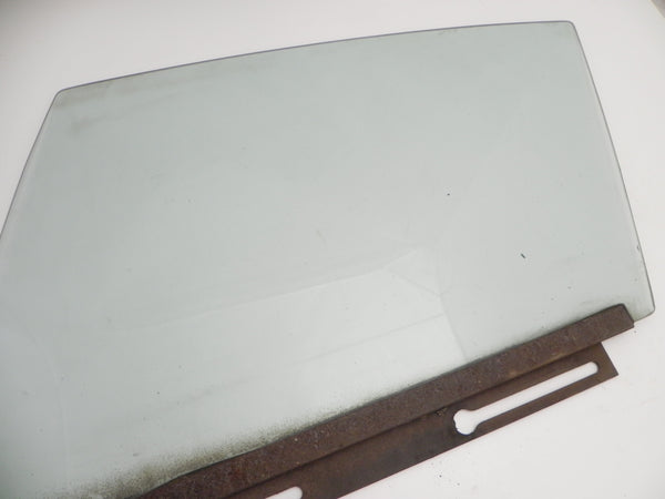 (Used) 911/912/930/964 Coupe Left Hand Green Tinted Window Glass w/ Rail - 1969-94