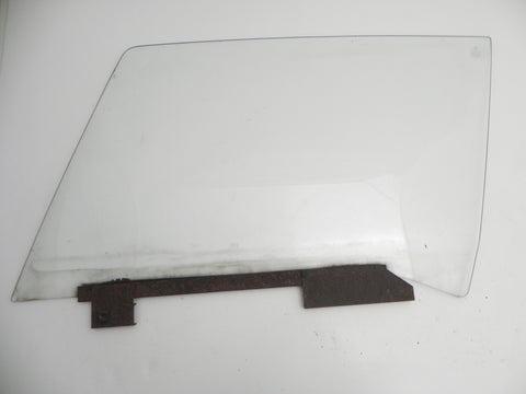 (Used) 914 Left Hand Clear Window Glass w/ Rail - 1970-76