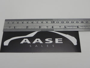 "(New) ""Aase Sales"" Decal"