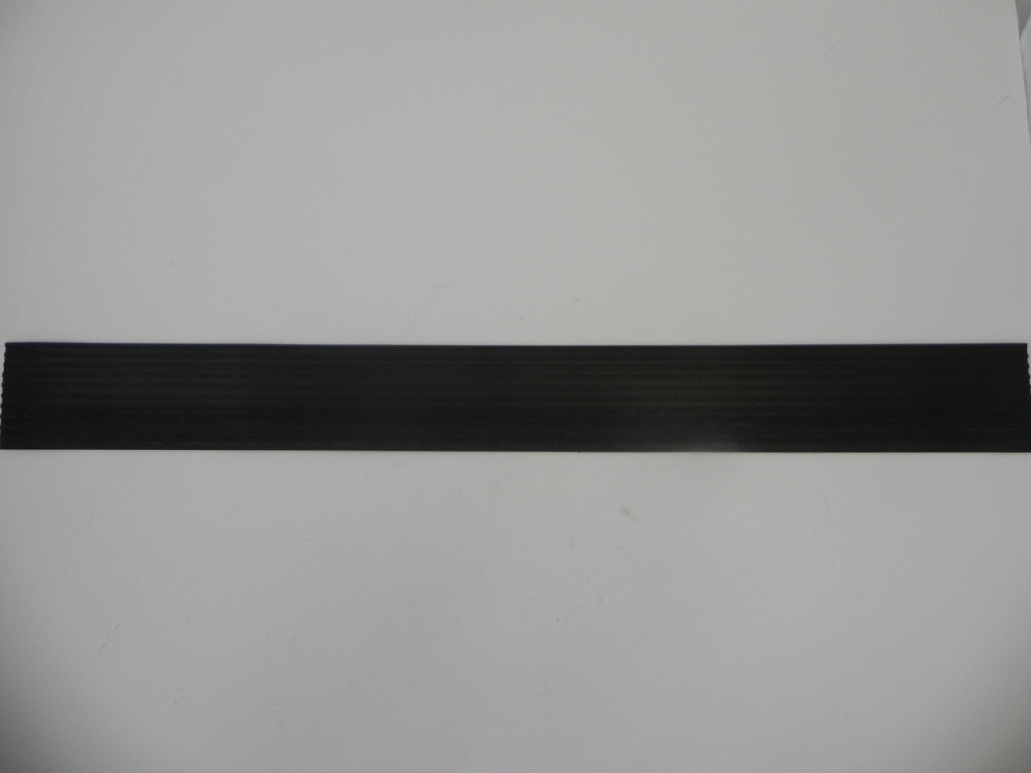 (New) 356 Threshold Ribbed Profile Rubber - 1950-65