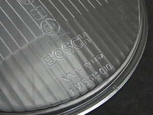 (New) 911/912 Bosch H1 Clear Asymmetrical Headlight Lens - 1967-70