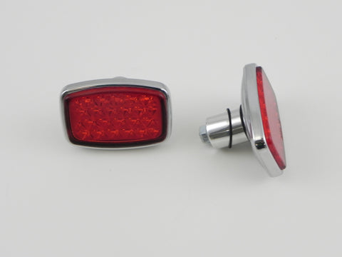 (New) 356 Pair of Rear Reflectors - 1952-59