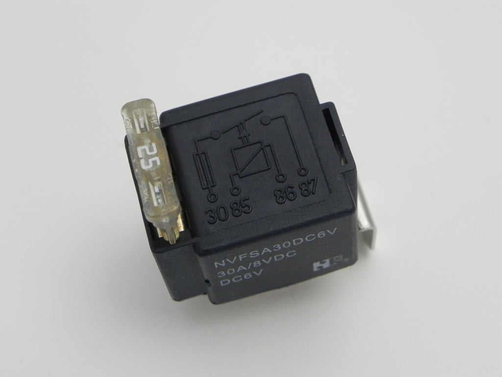 New) 356 6v 25A Fuse Fog Light Relay - 1950-65 | Aase Sales Porsche ...