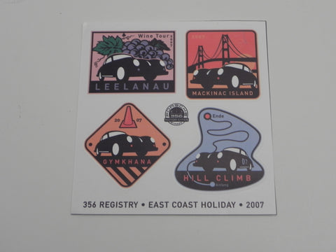 (New) 356 Registry Decal Set