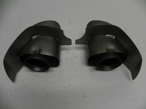 (Used) 993 Carrera Narrow Body Exhaust Tip Pair 1996-98