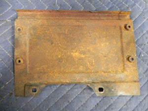 (Used) 912 Left Side Engine Cover Plate - 1965-69