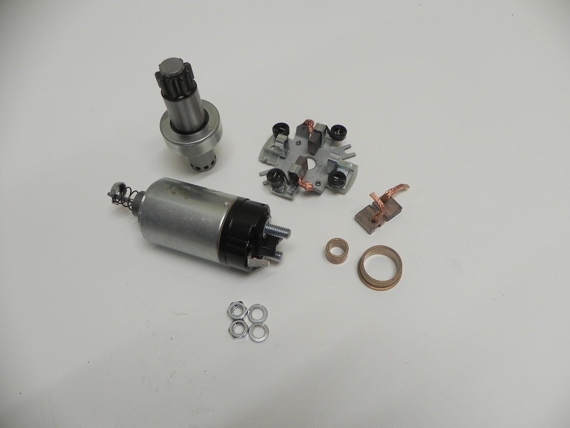 (New) 911 12v Deluxe Starter Rebuild Kit - 1965-78