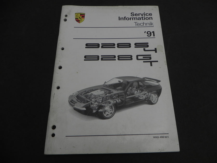 (Used) 928 S4, 928 GT Service Information 1991