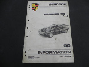 (Used) 89-928S-4 Service Information Guide