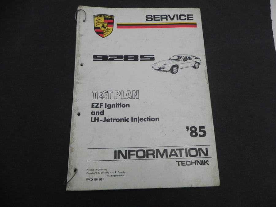 (Used) 85-928S Injection Service Guide
