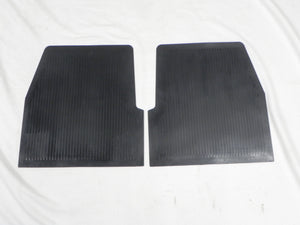 (New) 356 BT6/C Concours Pair of Rear Floor Mats - 1961-65