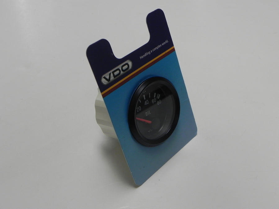 (New) VDO Oil Pressure Gauge 80 PSI 12volt