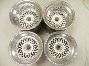 (Used) Spice '87 Group C Complete Set of 4 BBS 3-Piece Centerlock Wheels