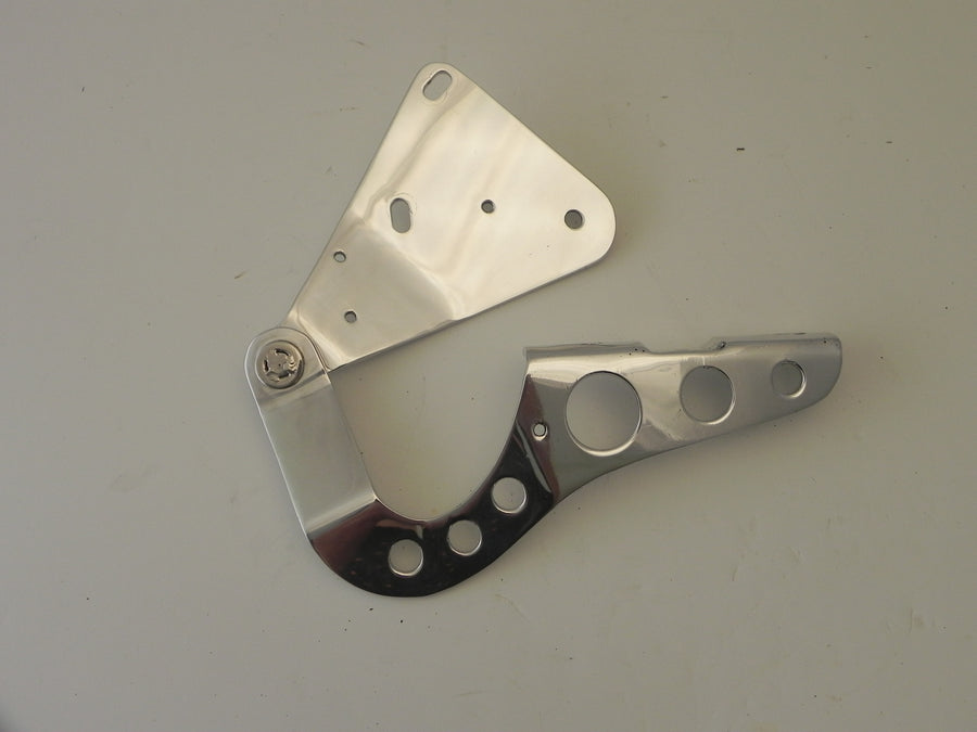 (New) 911 Left Aluminum Light Weight Hood Hinge - 1965-98