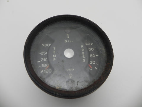 (Used) 911 Combination Oil Gauge 1970-73