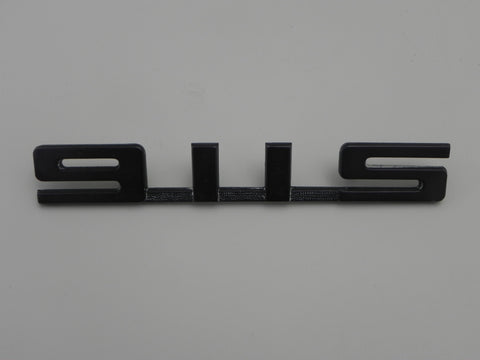(Used) 911S Rear Black Emblem for Engine Lid - 1972-75