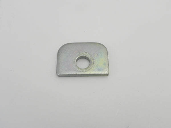 (New) 911/914/930 Late Shock Top Plate Front Single Hole - 1970-89
