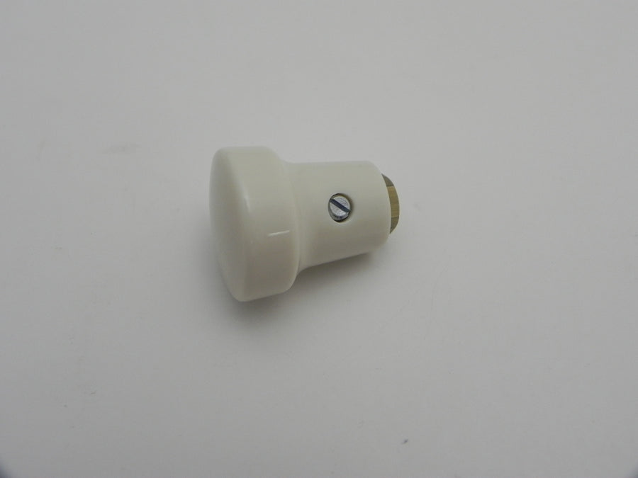 (New) 356 Pre-A/A Ivory Hand Throttle Switch Knob - 1950-59