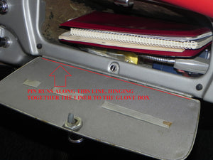 (New) 356 A/B/C Glove Box Hinge Pin - 1950-65
