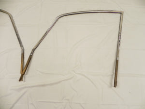 (Used) 911/912 Coupe SWB Early Pair of Brass Window Support Frames - 1965-67