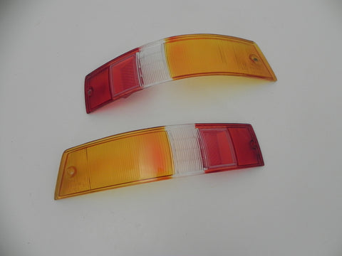 (New) 911/912 Concours-Like SWB European Tail Light Lens Pair - 1965-68