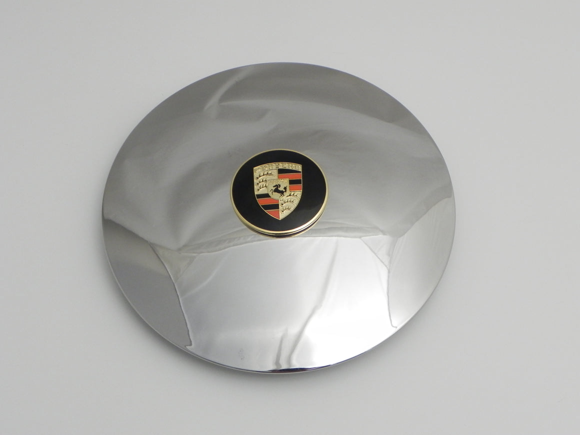 (Used) 356/912 Hubcap w/ Gold Enameled Crest - 1964-69