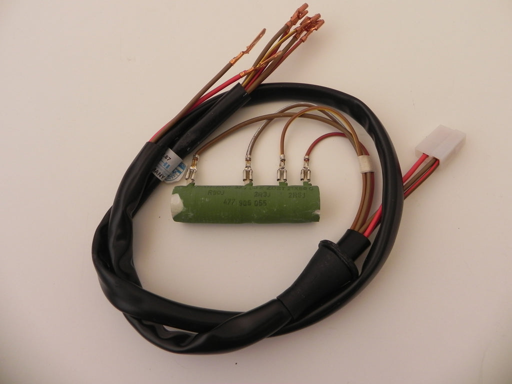 Porsche 944 Parts And Accessories Aase Sales Center 1987 Electrical Wiring Diagram New 924 Blower Motor Resistor 1980 88