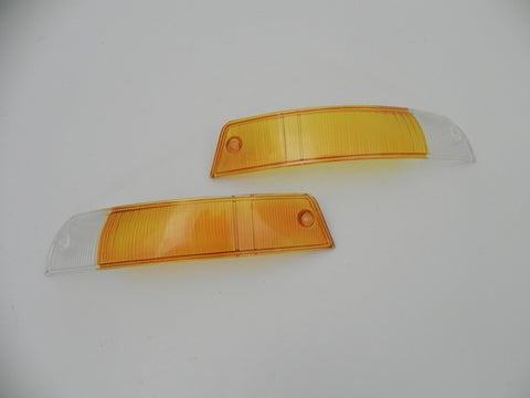 (New) 911/912 Concours-like European Turn Signal Lens Pair - 1965-68