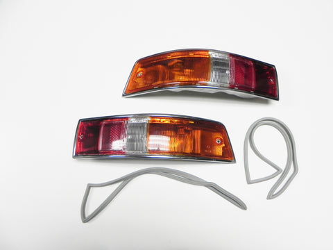 (Original) 911 or 912 European Tail Light Assembly Pair - 1965-68