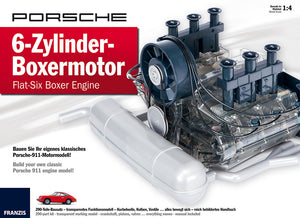 (New) 911 Porsche 2.0L Flat-Six 1:4 Engine Model