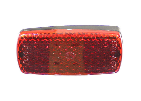 (New) 911/912 Red Rear Side Reflector - 1968