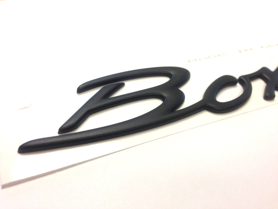 (New) Rear Lid 'Boxster' Emblem - 1997-2004