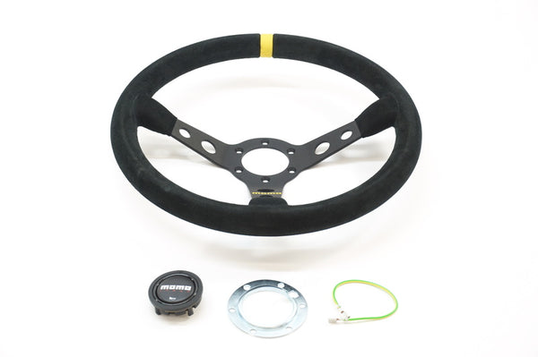 (New) 350mm MOMO Steering Wheel