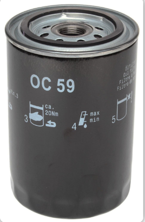 (New) 911/914-6 Mahle Oil Filter - 1965-72