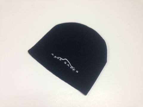 (New) Aase Sales Black Beanie Hat