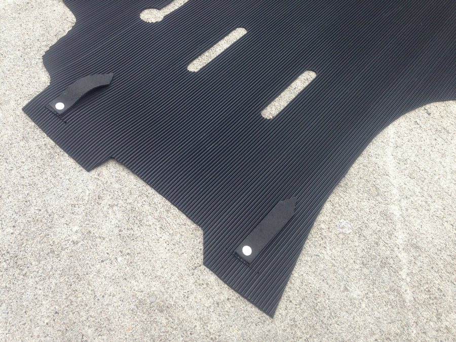 (New) 911 RS RSR Front Black Rubber Floor Mats