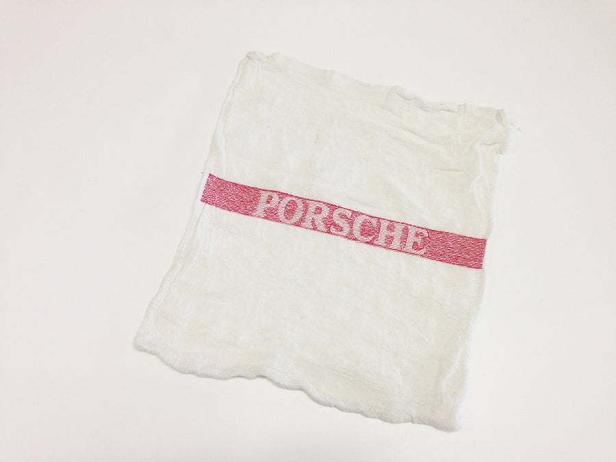 (New) Porsche® Shop Towel  - Pack of 5