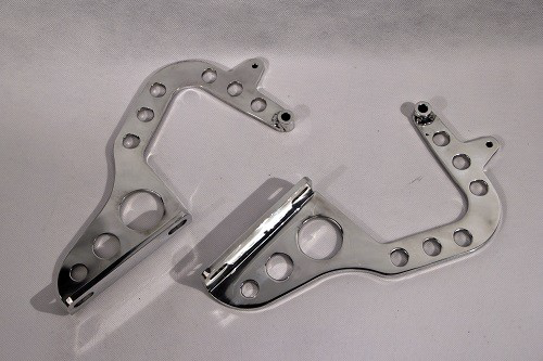 (New) 964/993 Pair of Aluminum Light Weight Back-dating Engine Lid Hinges - 1989-98
