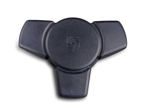 (New) 924S/944 Black Horn Button - 1982-88