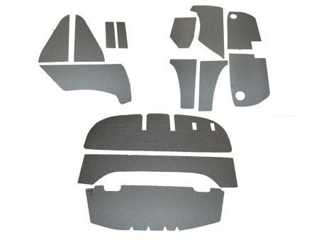 (New) 356 AT2/BT5 Coupe Engine Compartment Insulation Kit - 1957-61