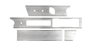 (New) 911/912 Aluminum Dash Trim Frame Set - 1969-73
