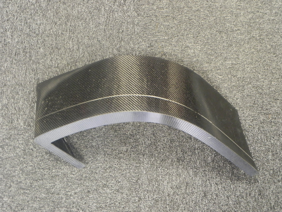 (New) Left Carbon Wheel Well (Front)